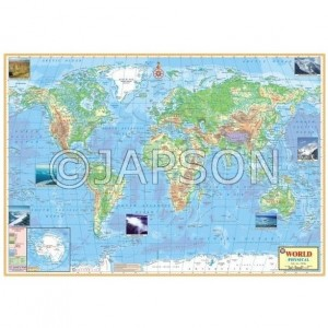Maps (Physical) Charts, School Education
