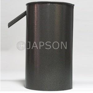 Overflow Vessel (Eureka Can), Metal