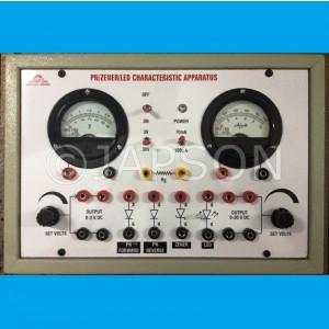 PN Junction/Zener Diode/LED Characteristics Apparatus