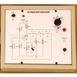 RC Phase Shift Oscillator Experiment Apparatus