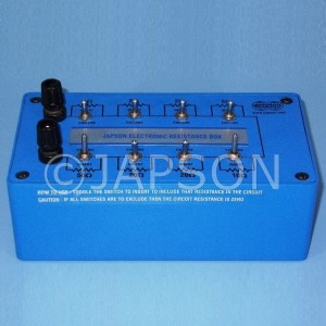 Resistance Box, Electronic Type