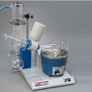 Rotary Vacuum Evaporator, Cold Trap Condenser, Thermostatic Temperature Control