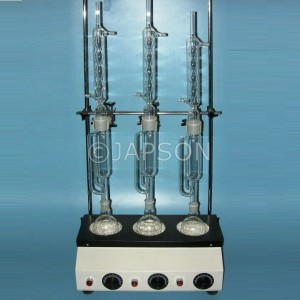 Soxhlet Extraction Apparatus Heating Unit With Glass Parts