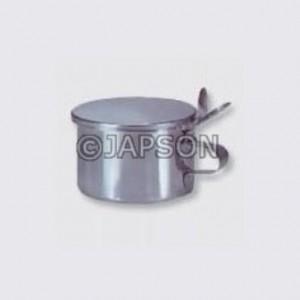Spittoon Mug, Stainless Steel