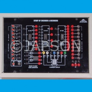 Study of Encoder & Decoder Circuits Experiment Apparatus