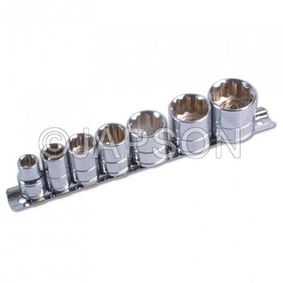 "3/4"" Driver Bi-Hex Carbon Steel Socket"