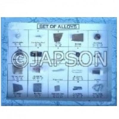 Alloys Set, Collection of 20 Alloys