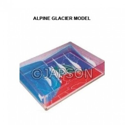 Alpine Glacier Model
