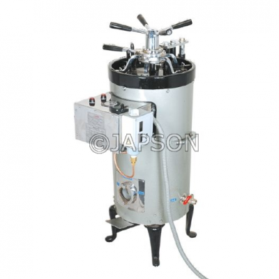 Autoclave, Vertical, Double Walled, Radial Locking
