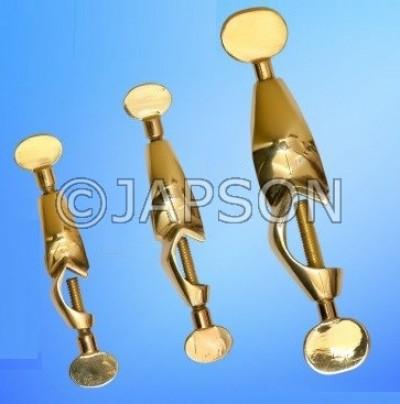 Boss Head, Retort, Brass 1
