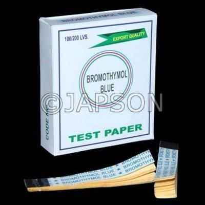 Bromothymol Blue Paper
