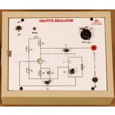 Colpitts Oscillator Experiment Apparatus