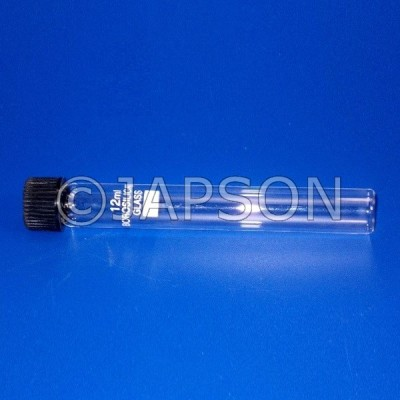 Culture Vial/Tube, Clear Glass