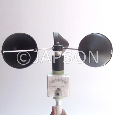 Cup Anemometer with Analog Display