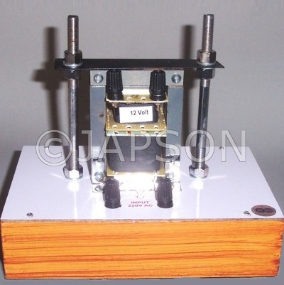 Demonstration Transformer with 2 Secondary Coils