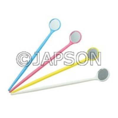 Dental Mirrors, Plastic