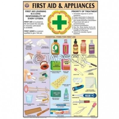 First Aid Charts, School Education