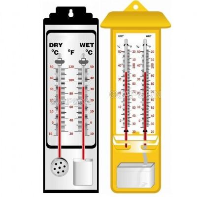 Hygrometer, Wet & Dry Bulb