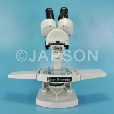 Student Stereo Microscope, with Attachable Base and Mirror Illumination