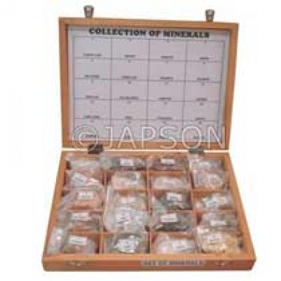 Mineral Set, Collection of 20 Minerals