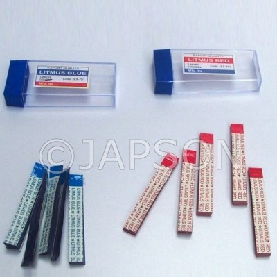 Litmus Red and Blue - Packs, Rolls & Strips