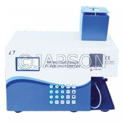 Microprocessor Flame Photometers (In Built Thermal Printer)
