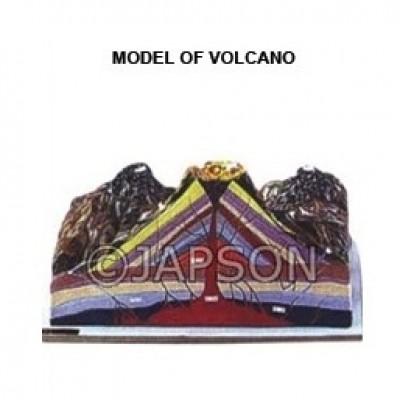 Model of Volcano