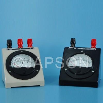 Moving Coil Meter, Round Dial, Top Terminal (Ammeters, Milli-Ammeters, Micro-Ammeters, Voltmeters and Galvanometer)