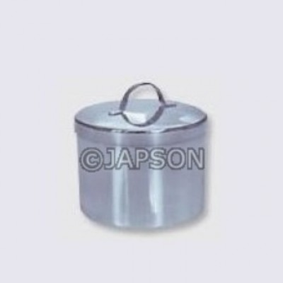 Ointment Jar, Stainless Steel