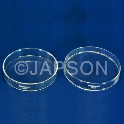 Petri Dishes, Borosilicate Glass