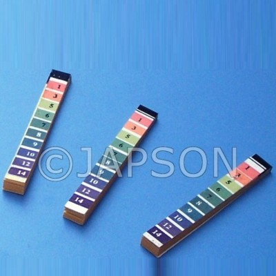 pH Indicator Paper (1 to 14) - Packs and Rolls