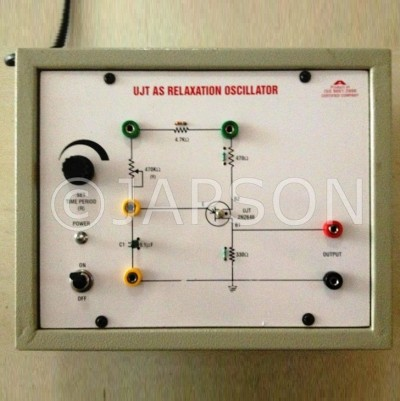 Relaxation Oscillator using UJT Experiment Apparatus