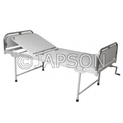 Semi Fowler Bed, Stainless Steel Panel