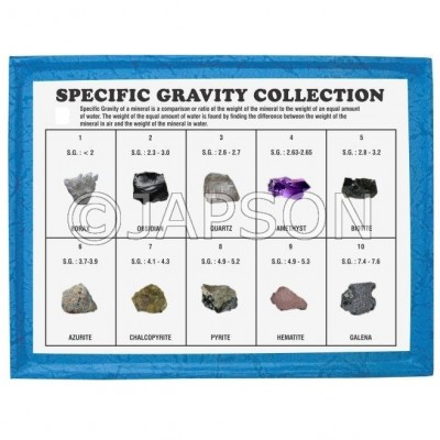 Specific Gravity Collection, Set of 10