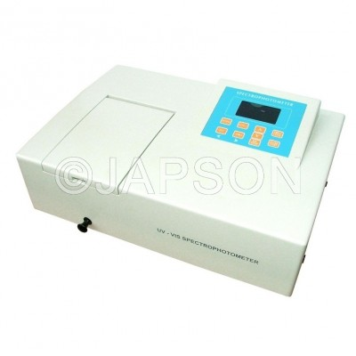 Spectrophotometer, Microprocessor Based, UV-VIS Single Beam, Automatic