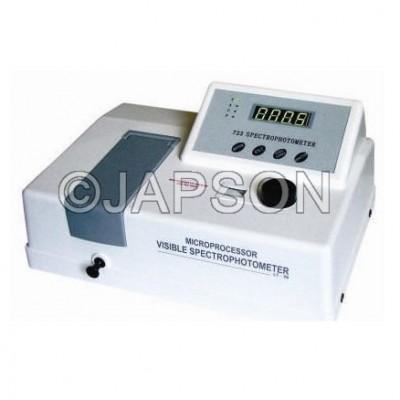Spectrophotometer, Microprocessor Based, VIS, Single Beam