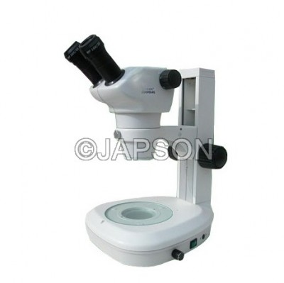 Stereo Zoom Microscope 30 degrees with LED and Big Base (0.8:5)