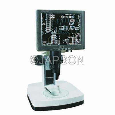 Stereo Zoom Microscope with LCD Screen (0.65:5.5)