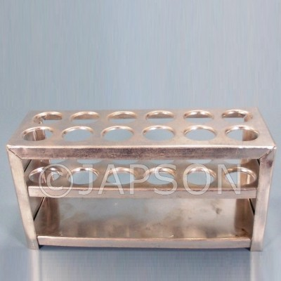 Test Tube Stand, Sheet Metal, 3 Tier