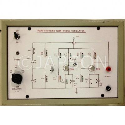 Wein Bridge Oscillator using Transistor Experiment Apparatus