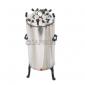 Autoclave, Vertical, Stainless Steel, Nut Locking, (Sterilizer Pressure Type)