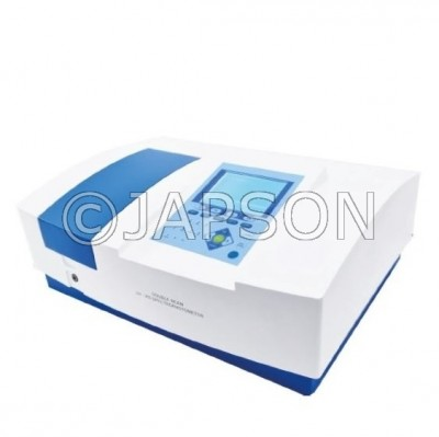 Double Beam UV-VIS Spectrophotometer (Variable Bandwidth with 8 Cell Changer)