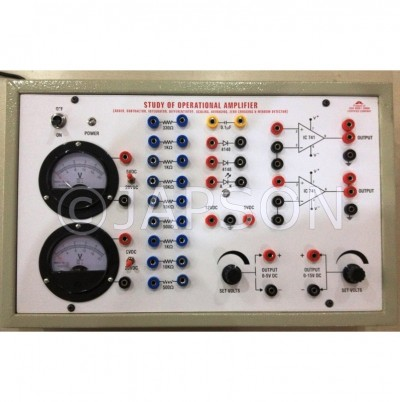 Applications Of Operational Amplifier Experiment Apparatus