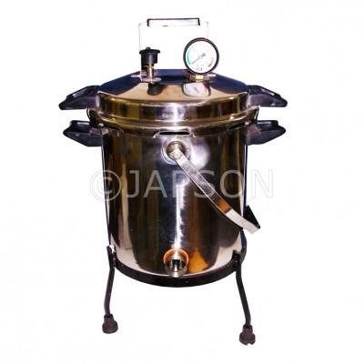 Autoclave, Portable, Aluminium, Pressure Cooker Type (Sterilizer Pressure Type)
