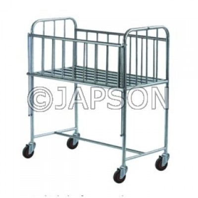 Baby Cot, Stainless Steel