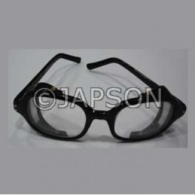 Black Plastic Goggles