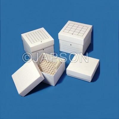 Cardboard Box for Micro Centrifuge Tubes