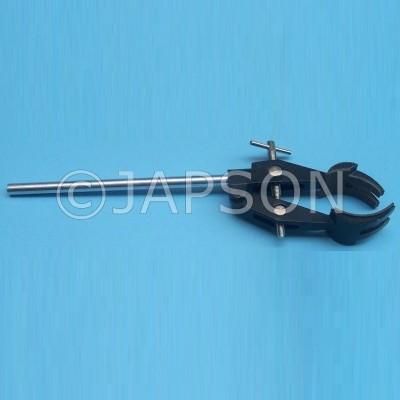 Standard Clamp Retort, Four Pronged, Pressure Die Cast, Aluminium
