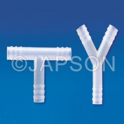 Connectors (T & Y), Plastic
