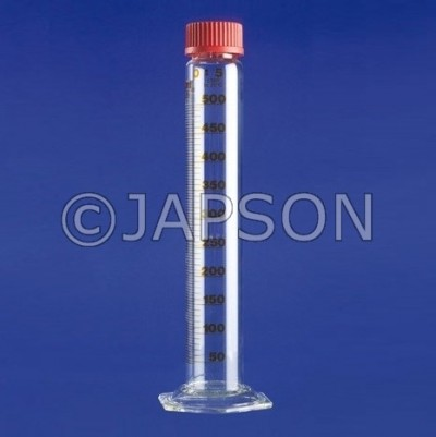 Cylinder, Measuring, With Screw Cap